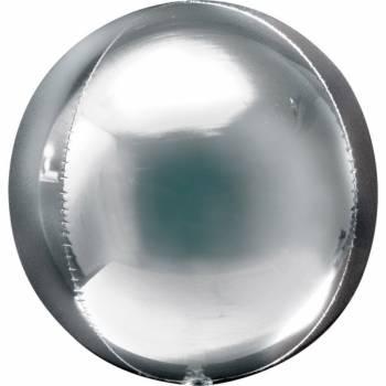 Ballon bulle argent