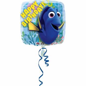 Ballon hélium Dory Happy Birthday