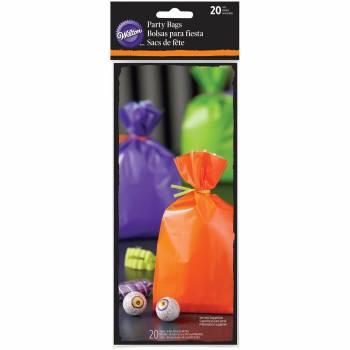 20 Sachets à confiseries color Halloween