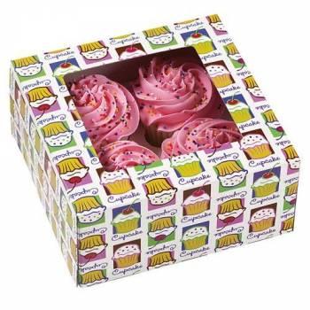 Boites 4 cupcakes Cupcake