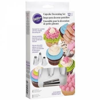 Set décoration cupcakes Wilton 12 pièces