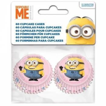 60 Mini caissettes Minions