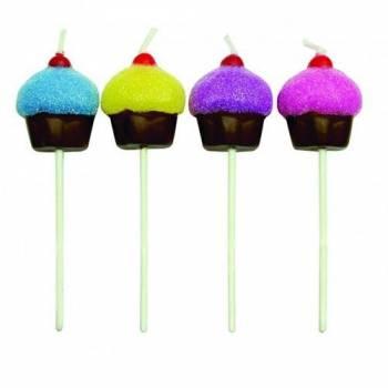 8 Bougies pics Cupcakes