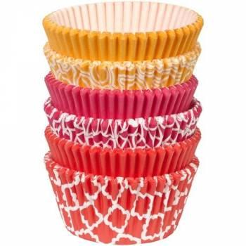 150 Caissettes cupcakes Wilton géométrique