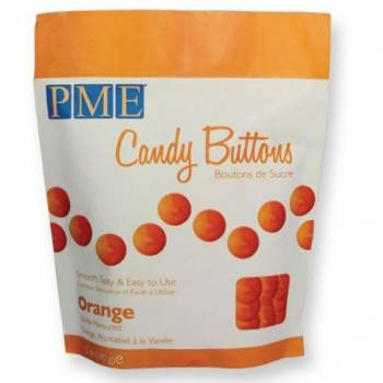 Candy buttons PME orange