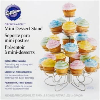 Présentoir 24 mini cupcakes wilton