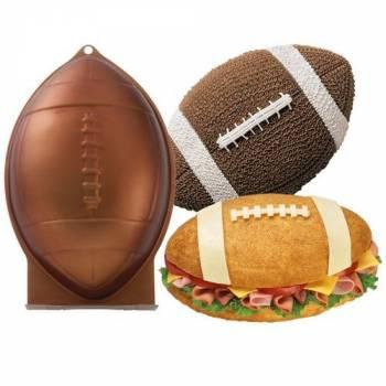 Moule à gâteau ballon de Rugby Wilton