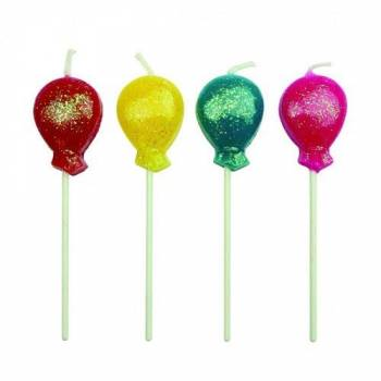 8 Bougies pics Ballons