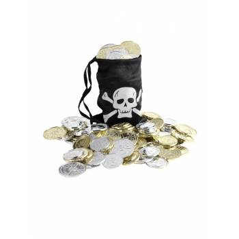 Bourse pirate + écu