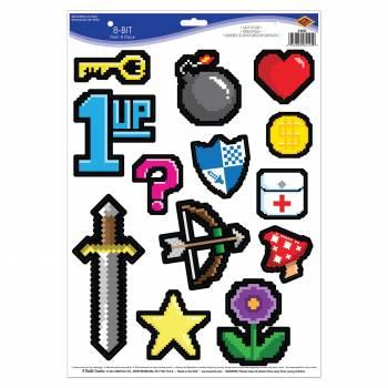Lot 13 Stickers Jeux vidéos