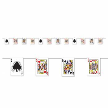 Guirlande de cartes à jouer