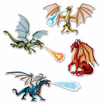 7 Décors Dragons