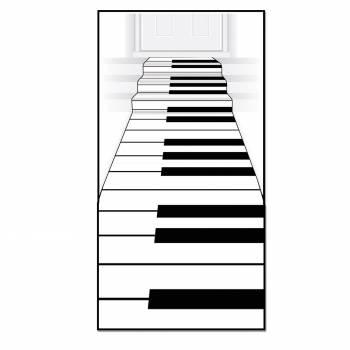 Tapis intissé clavier de piano
