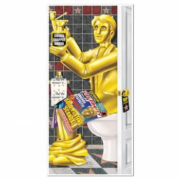 Décor mural géant pour wc cinéma