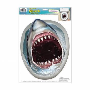 Sticker Requin pour rabat de toilettes