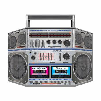 Point photo géant Poste radio