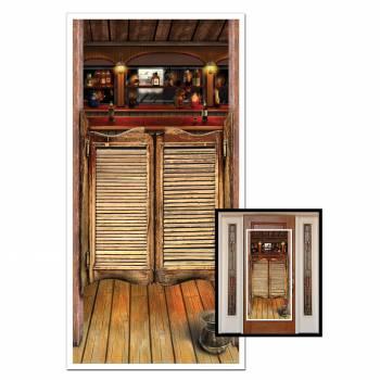 Décor de porte de saloon