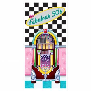 Décor porte jukebox fabulous 50's