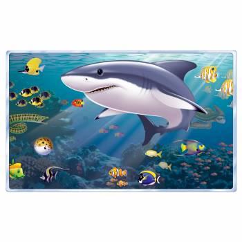 Décor mural Fenêtre Vue mer plastifié