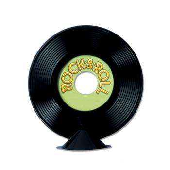 Disque rock n'roll personnalisable