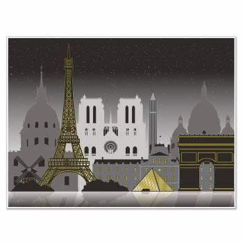 Décor mural vue sur Paris
