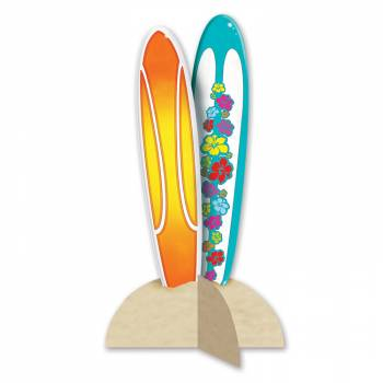 Centre de table planche de surf 30cm