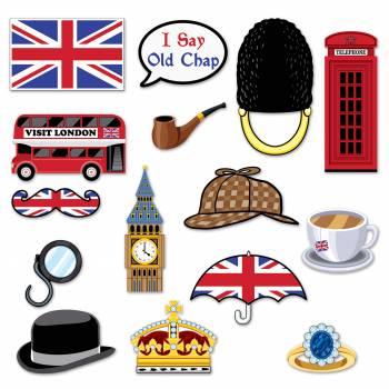 11 décors Londres photobooth