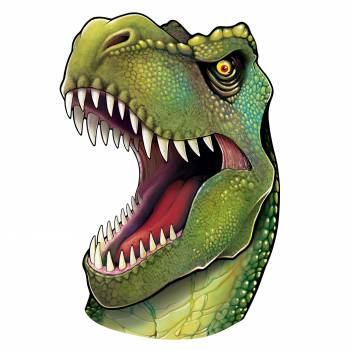 Décor tête de Dinosaure