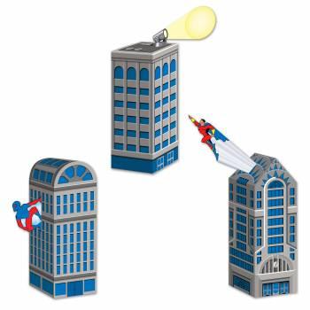 3 Boîtes cadeaux building