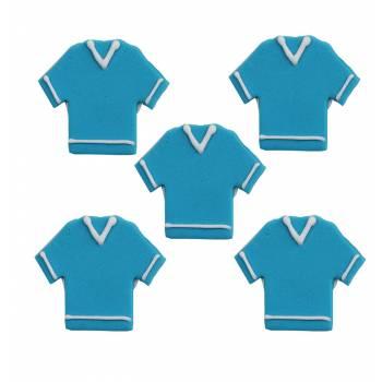 tshirt bleu en sucre