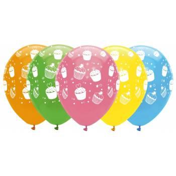 Ballons cupcakes