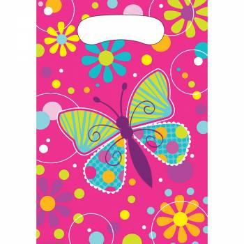 Sachet anniversaire papillons
