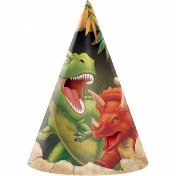 8 chapeaux dinosaure