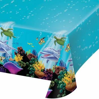 Nappe rectangulaire Océan en plastique