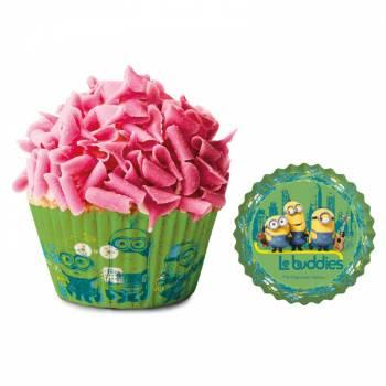 50 Caissettes à cupcakes Les Minions