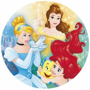 Disque azyme Princesses disney 20cm