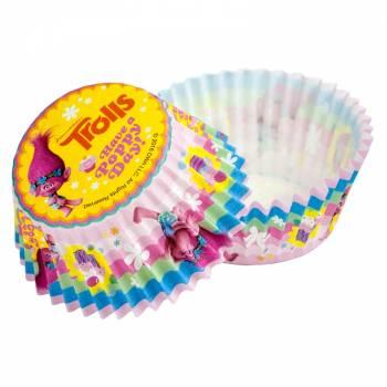 Lot 50 Caissettes Cupcakes Trolls