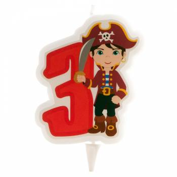 Bougie n°3 Pirate