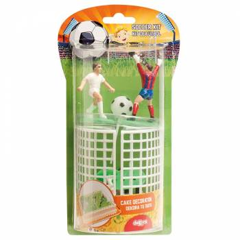 Set figurines & cages FootBall