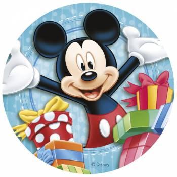 Photo comestible Mickey cadeau 20 cm