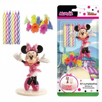 Kit figurines gâteau Minnie