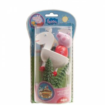 Kit décor Peppa pig en plastique