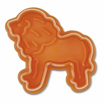 Emporte pièce empreinte Lion en plastique