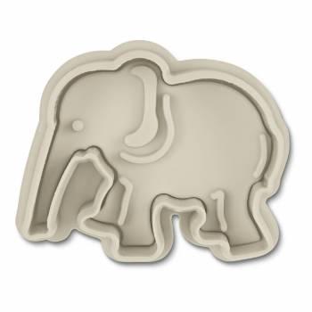 Emporte pièce empreinte Eléphant en plastique