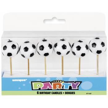 6 Bougies pics Football