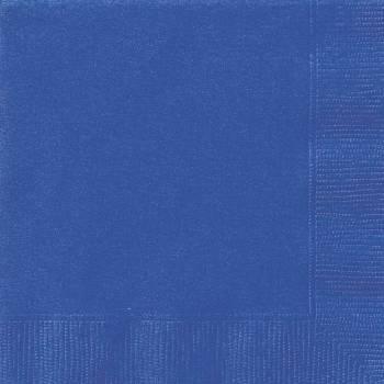 Serviettes jetables papier verte bleu