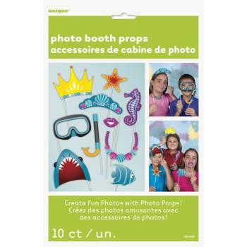 Kit 10 Accessoires Photobooth Mer