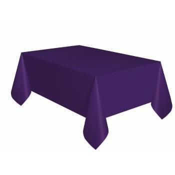 Nappe jetable plastique violette