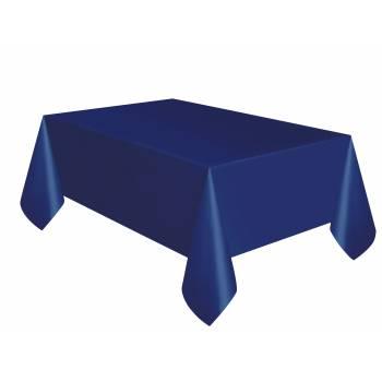 Nappe jetable plastique bleu marine