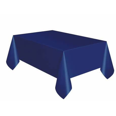 nappe jetable plastique bleu marine. Black Bedroom Furniture Sets. Home Design Ideas
